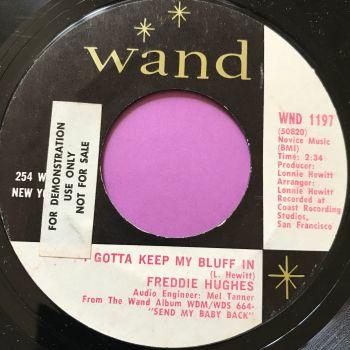 Freddie Hughes-I've gotta keep my bluff in-Wand stkr E+