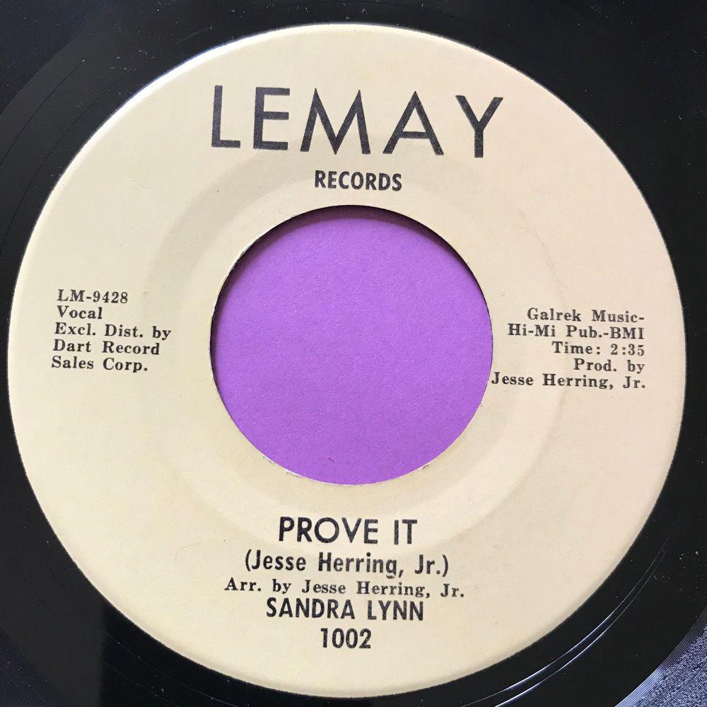Sandra Lynn-Prove it-Lemay E+