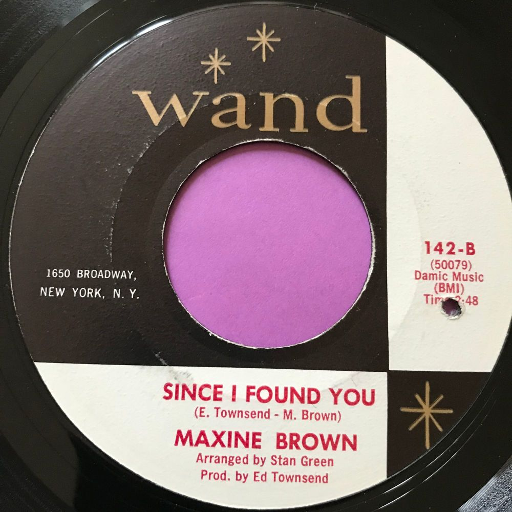 Maxine Brown-Since I found you-Wand E+