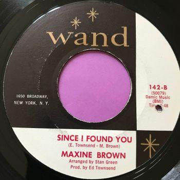 Maxine Brown-Since I found you-Wand E+