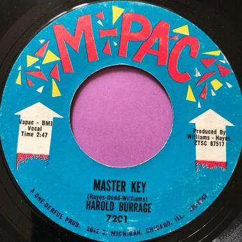 Harold Burrage-Master key-M-Pac E+