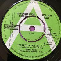 Homer Banks-60 minutes of your love-UK Liberty Demo E