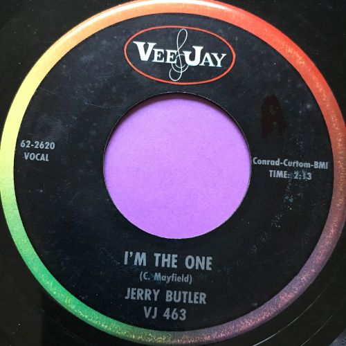 Jerry Butler-I'm the one-VJ E