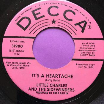 Little Charles-It's a heartache-Decca Demo M-