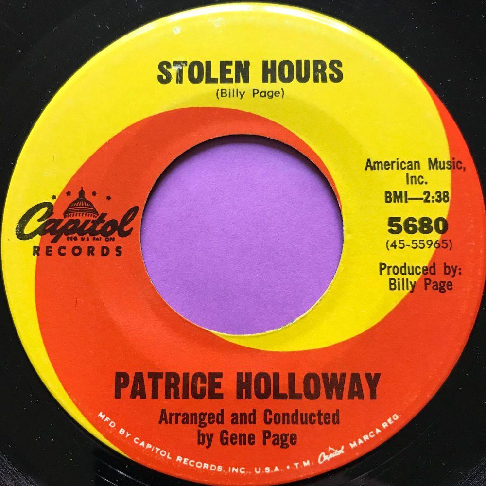 Patrice Holloway-Stolen hours-Capitol E+