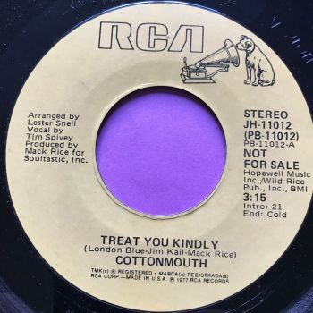 Cottonmouth-Treat me kindly-RCA demo E+