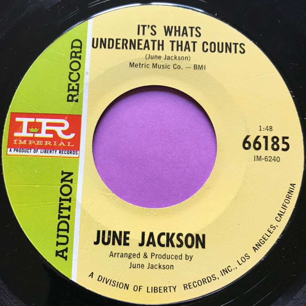 June Jackson-It's what's underneath that counts-Imperial Demo E+