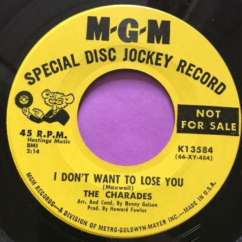 Charades-Never set me free/I don't want to lose you-MGM Demo E+
