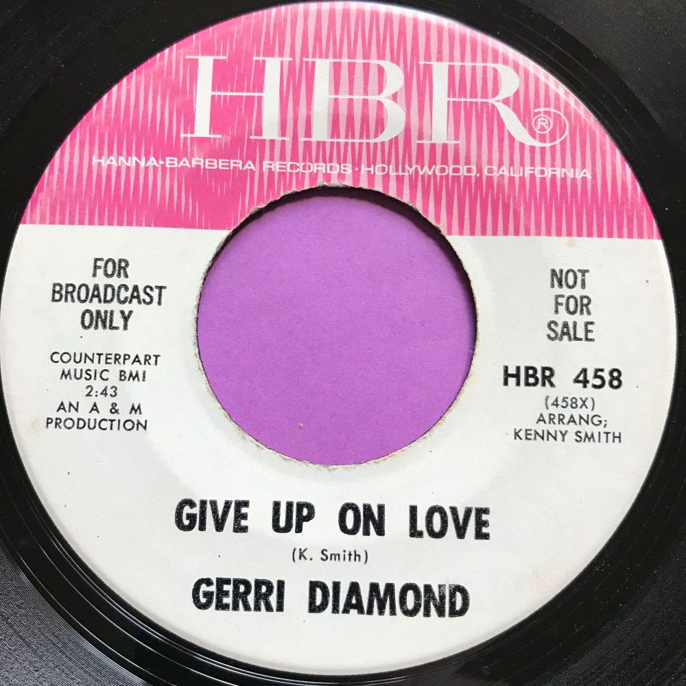 Gerri Diamond-Give up on love-HBR E