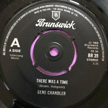 Gene Chandler-There was a time-UK Brunswick  E+