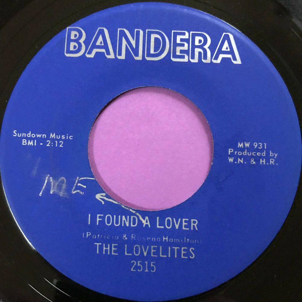 Lovelites-I found a lover-Bandera E+