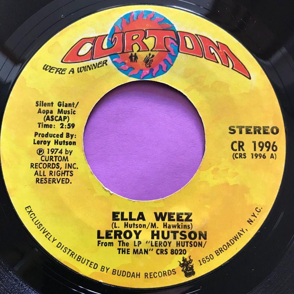 Leroy Hutson-Ella Weez-Curtom E+