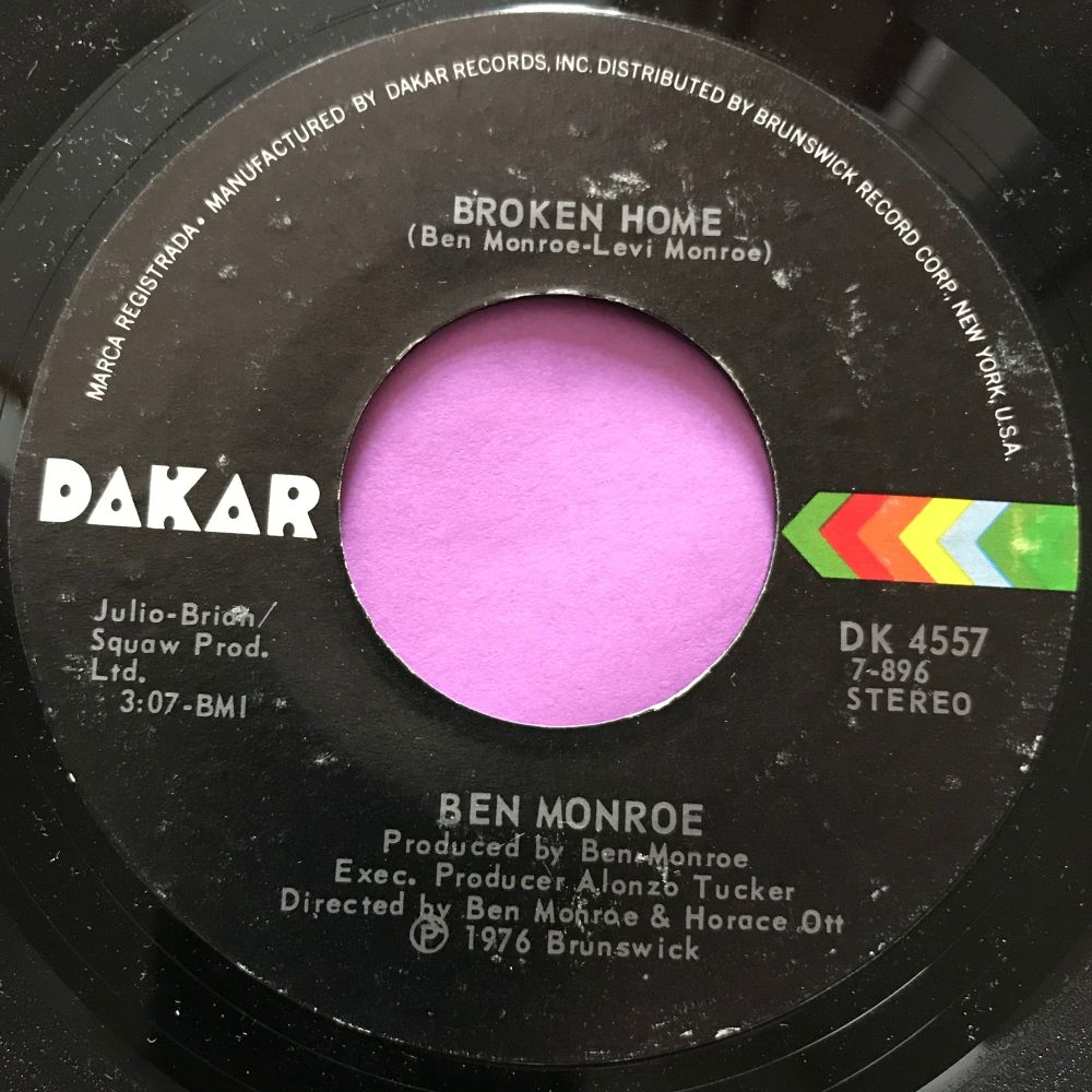Ben Monroe-Broken home-Dakar E+