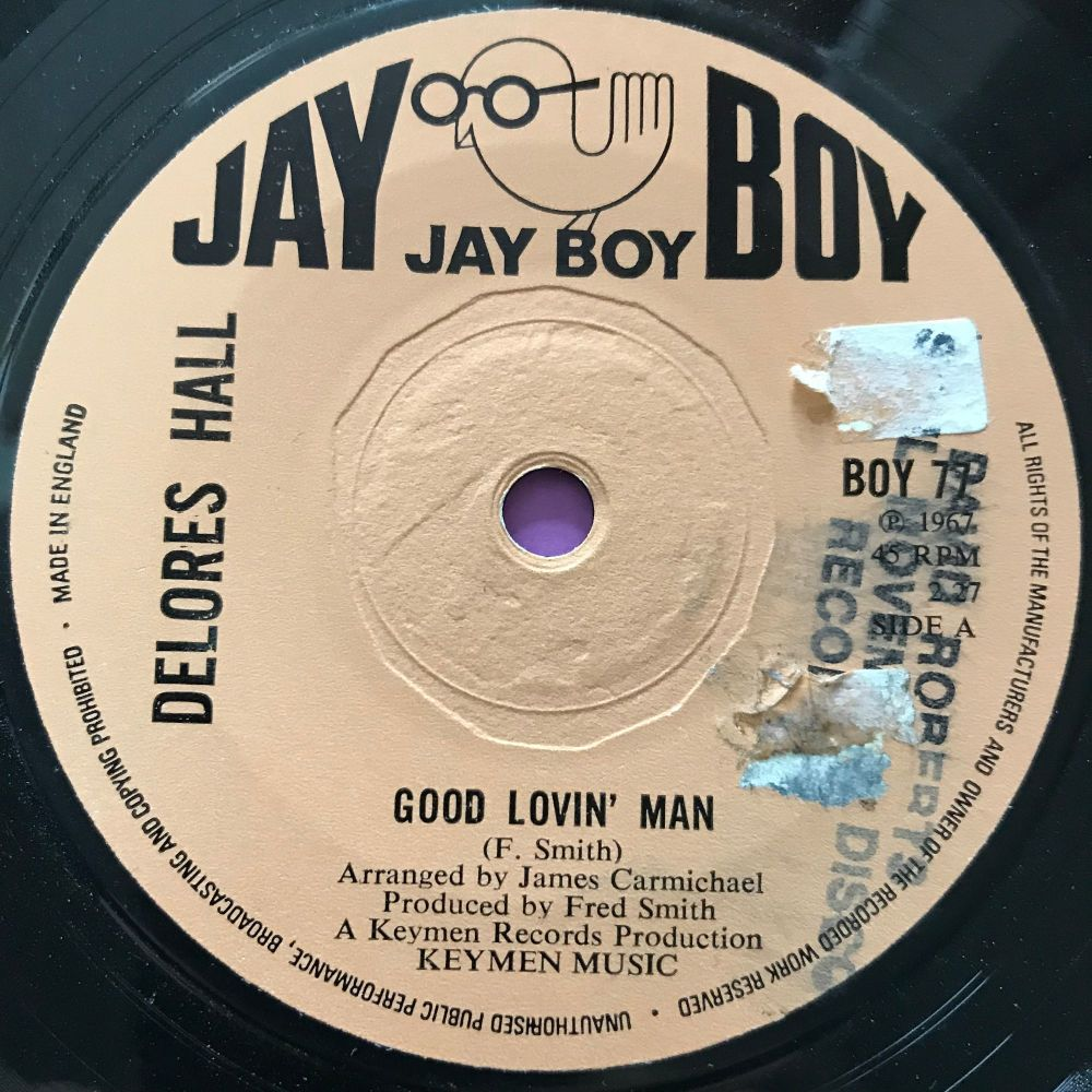 Delores Hall-Good lovin' man-Jayboy LT E