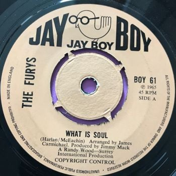 Furys-What is soul-UK Jayboy E