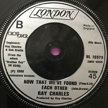 Ray Charles-Now that we've found each other-UK London E+
