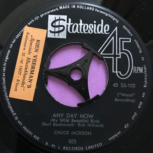 Chuck Jackson-Any day now-Dutch Stateside E+