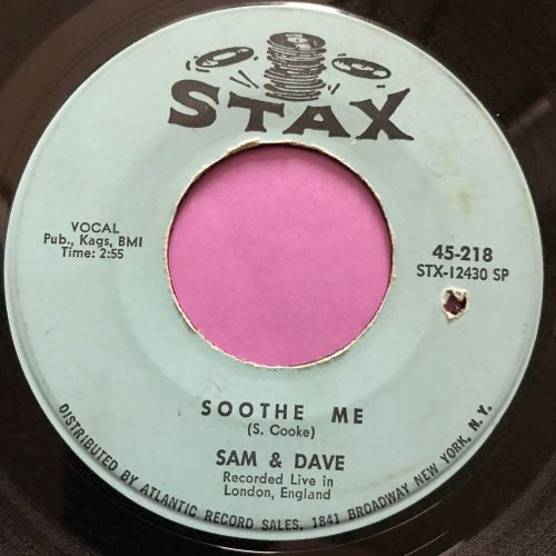 Sam & Dave-Soothe me-Stax vg+