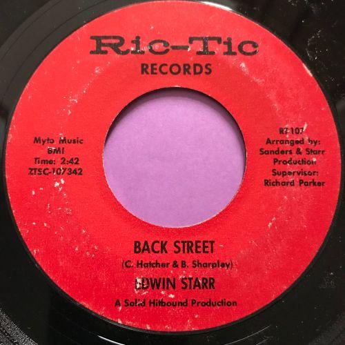 Edwin Starr-Back street-Rictic E+