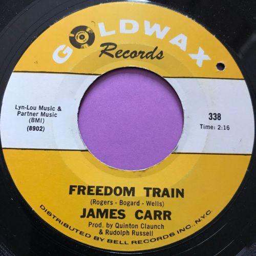 James Carr-Freedom train-Goldwax E+