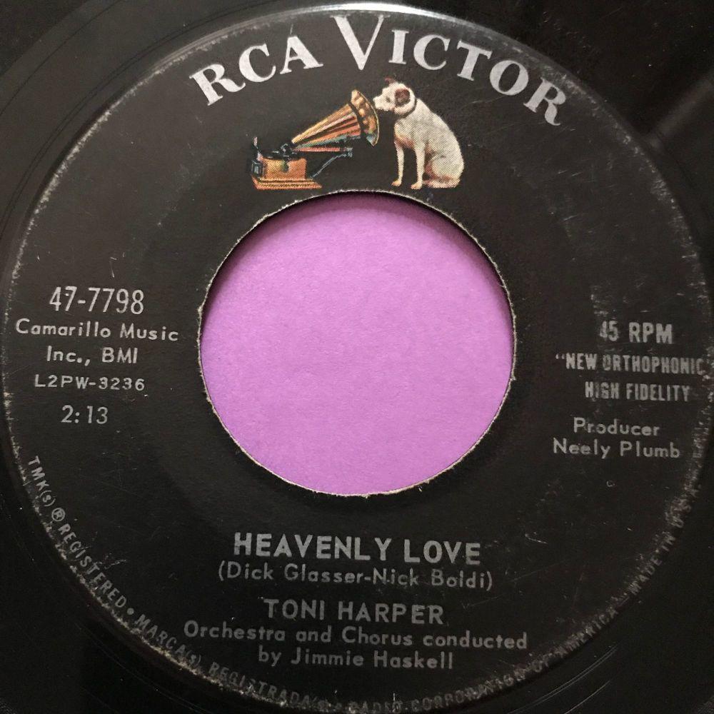 Toni Harper-Heavenly love-RCA vg+