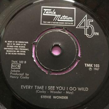 Stevie Wonder-Everytime I see you I go wild- Swedish TMK 103 E