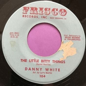 Danny White-The little bitty things-Frisco vg+