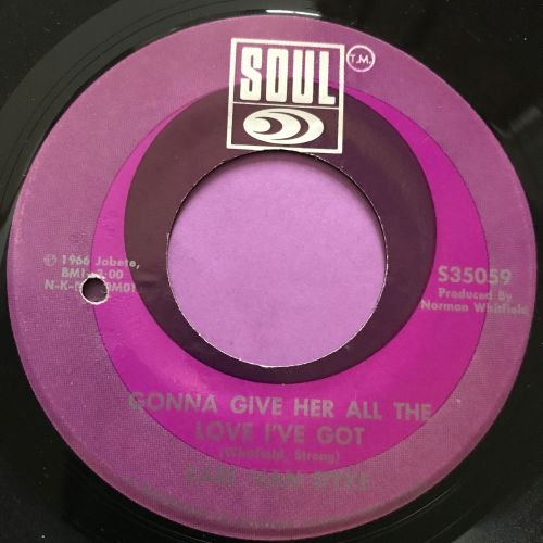 Earl Van Dyke-Gonna give her all the love I got- Soul E+