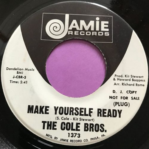 Cole Bros-Make yourself ready-Jamie WD E+