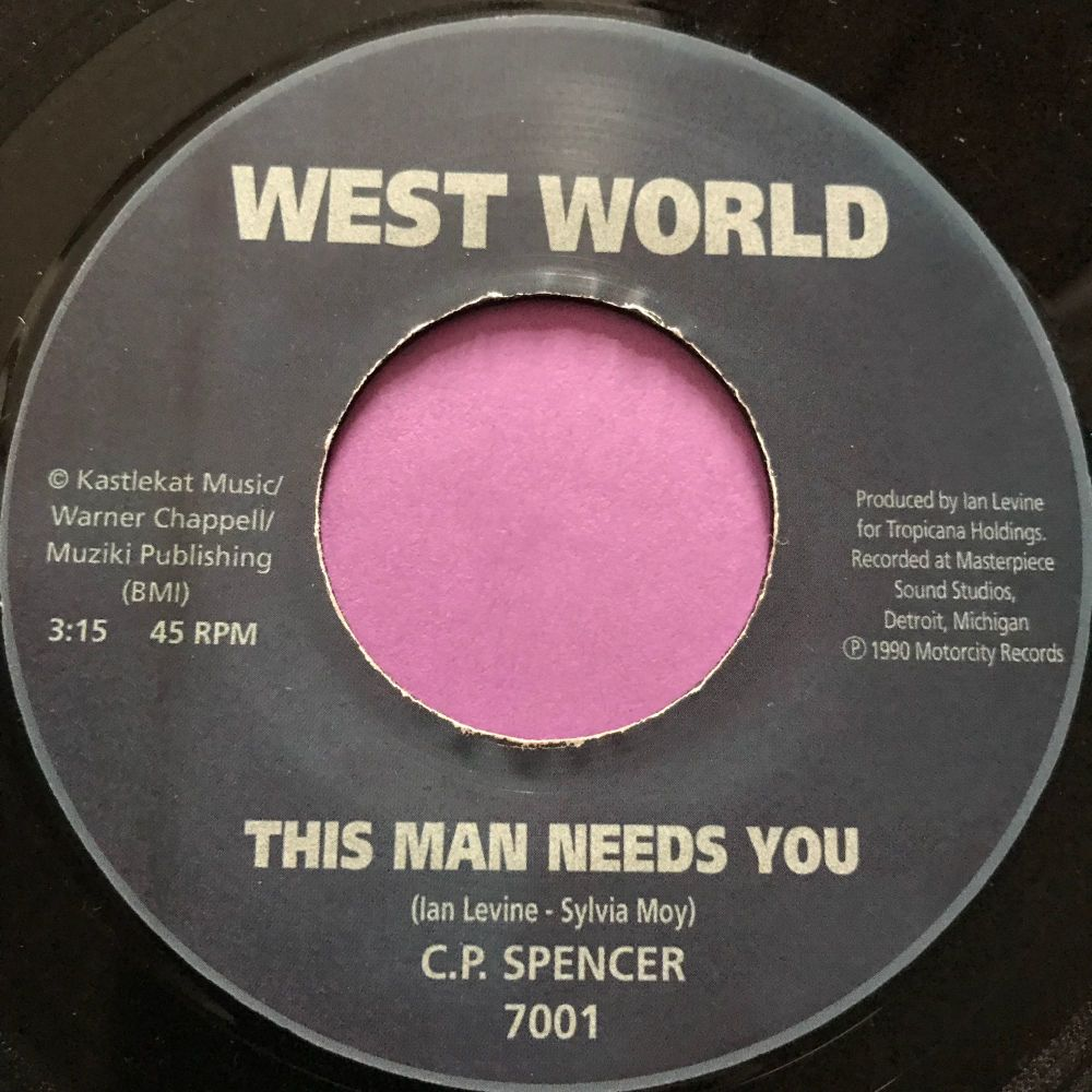 C.P Spencer-This man needs you-West world E+