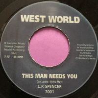 C.P Spencer-This man needs you-West world E+