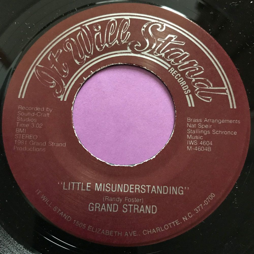 Grand Strand-Little Misunderstanding-It will stand E+
