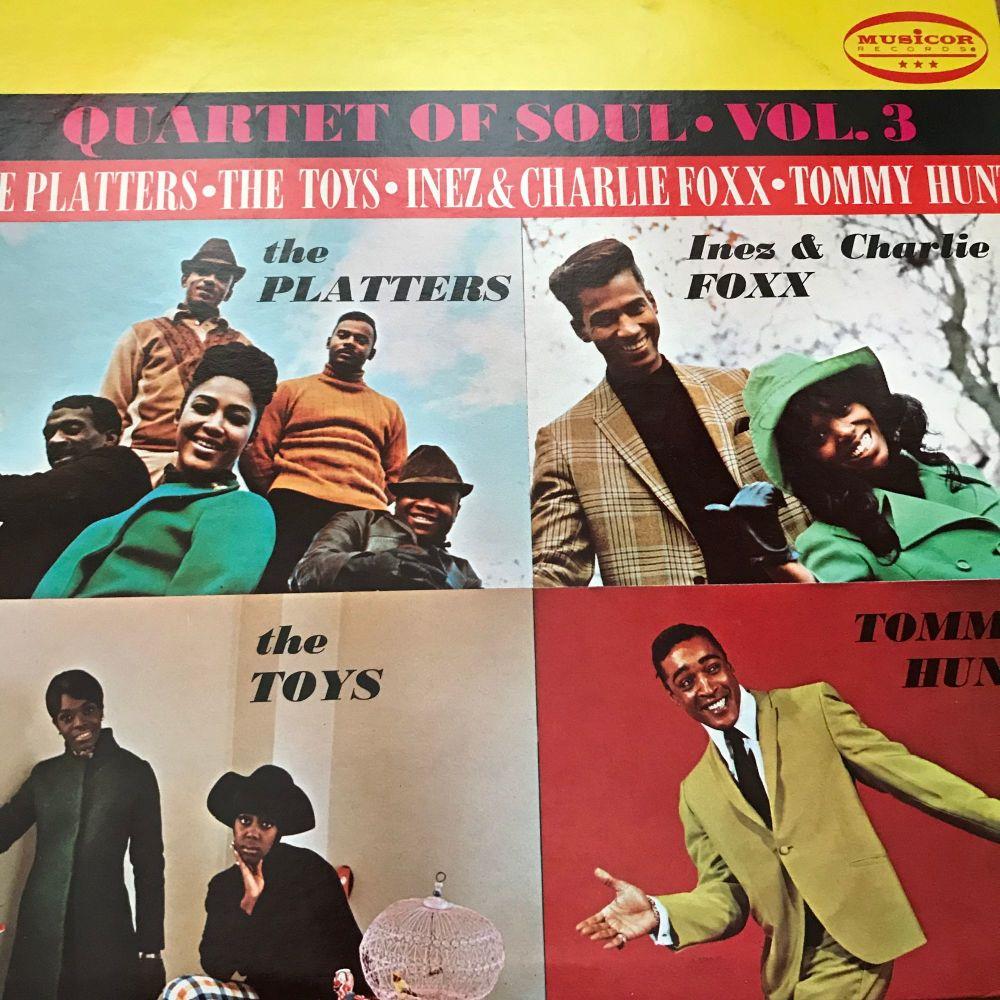 Various Artists-Quartet of Soul Vol 3-Musicor  LP E+