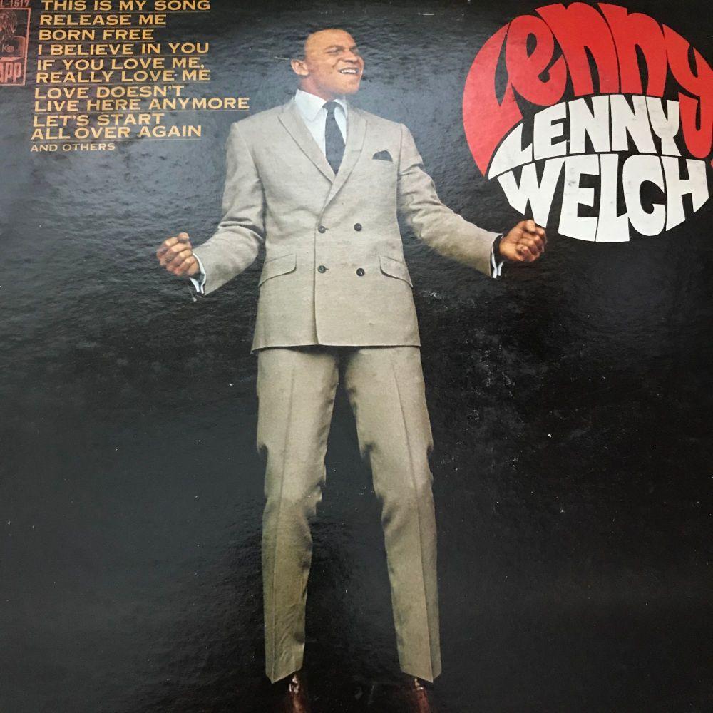 Lenny Welch-Lenny-Kapp LP E