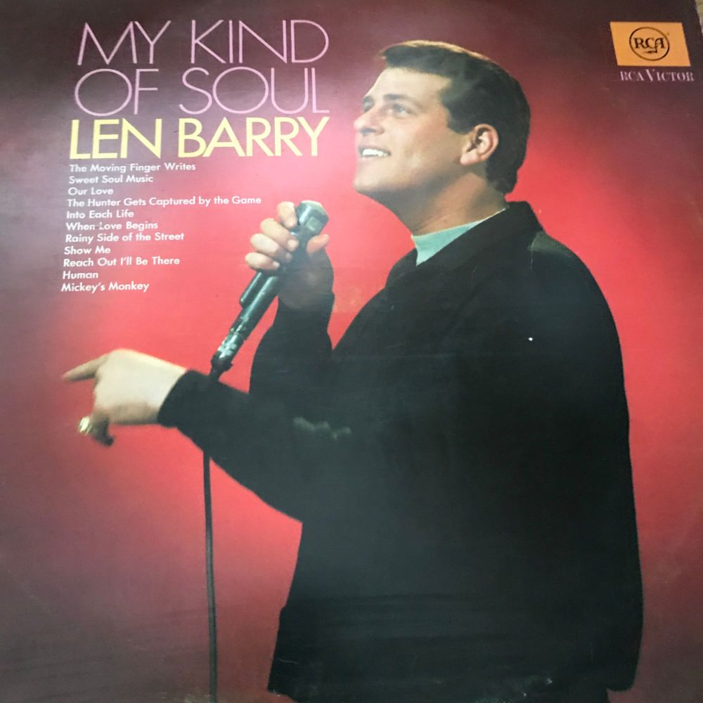 Len Barry-My kind of soul-RCA LP E