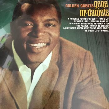 Gene McDaniels-Golden greats-Liberty LP E+