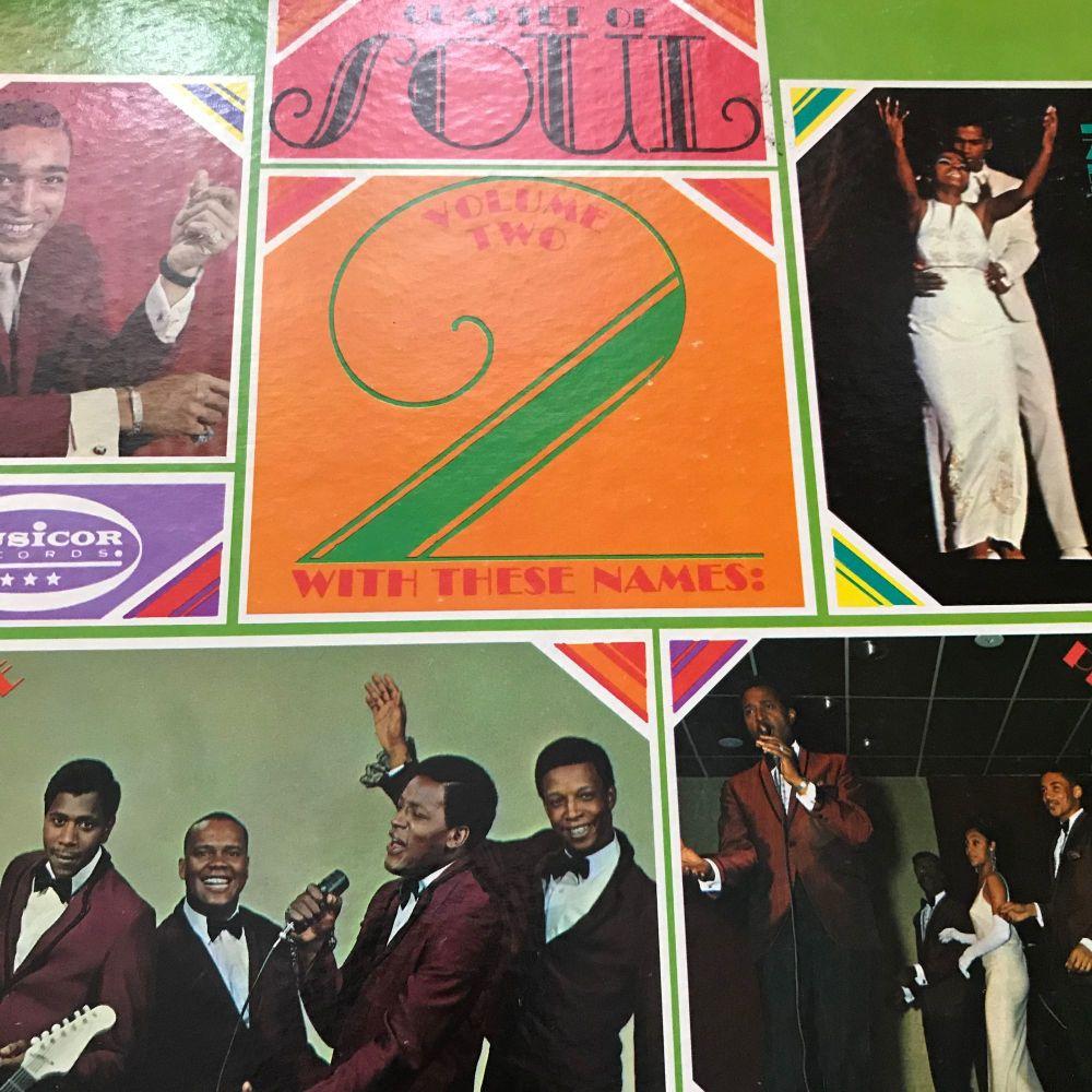 Various Artists-Quartet of Soul-Musicor LP E