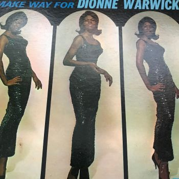 Dionne Warwick-Make way for-Scepter LP E