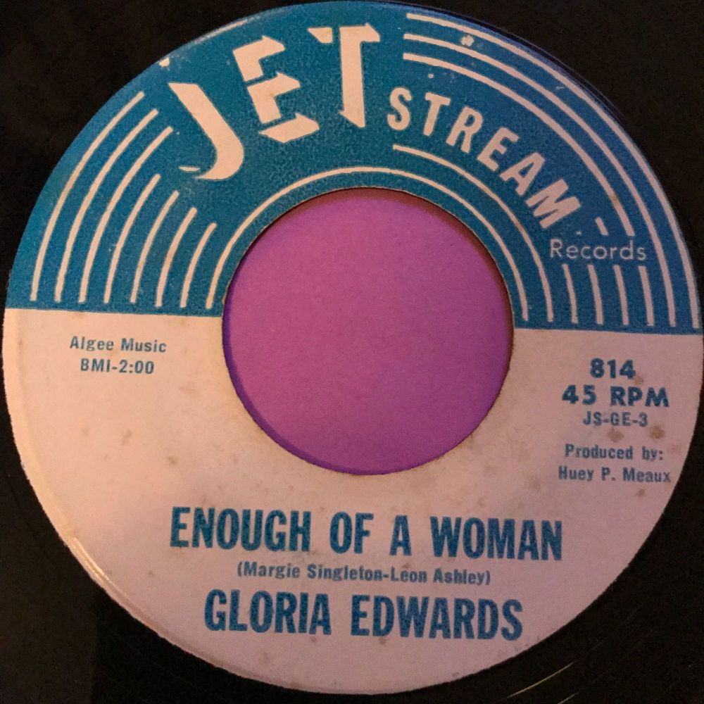 Gloria Edwards-Enough of a woman-JetStream E