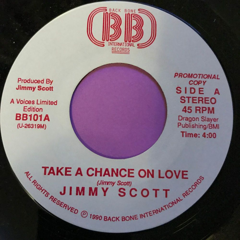 Jimmy Scott-Take a chance on love-BackBone  E+