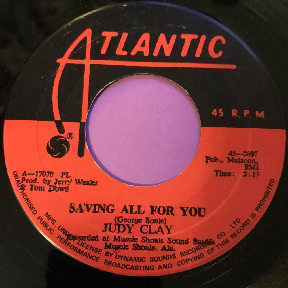 Judy Clay-Saving all for you-Atlantic E+