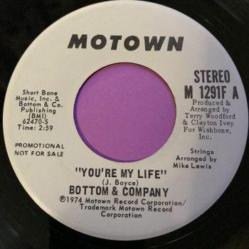 Bottom & Co-You're my life-Motown WD E+