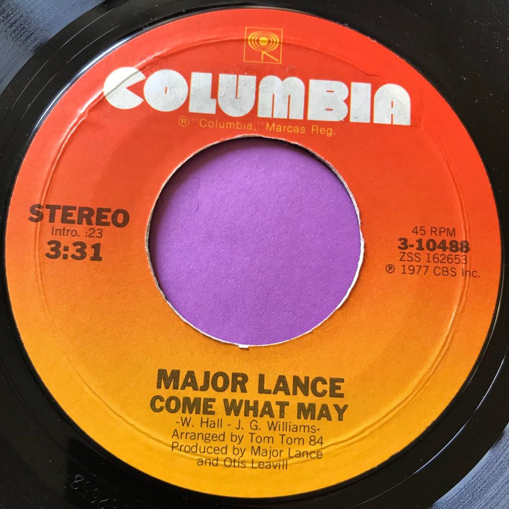 Major Lance-Come what may-Columbia E+