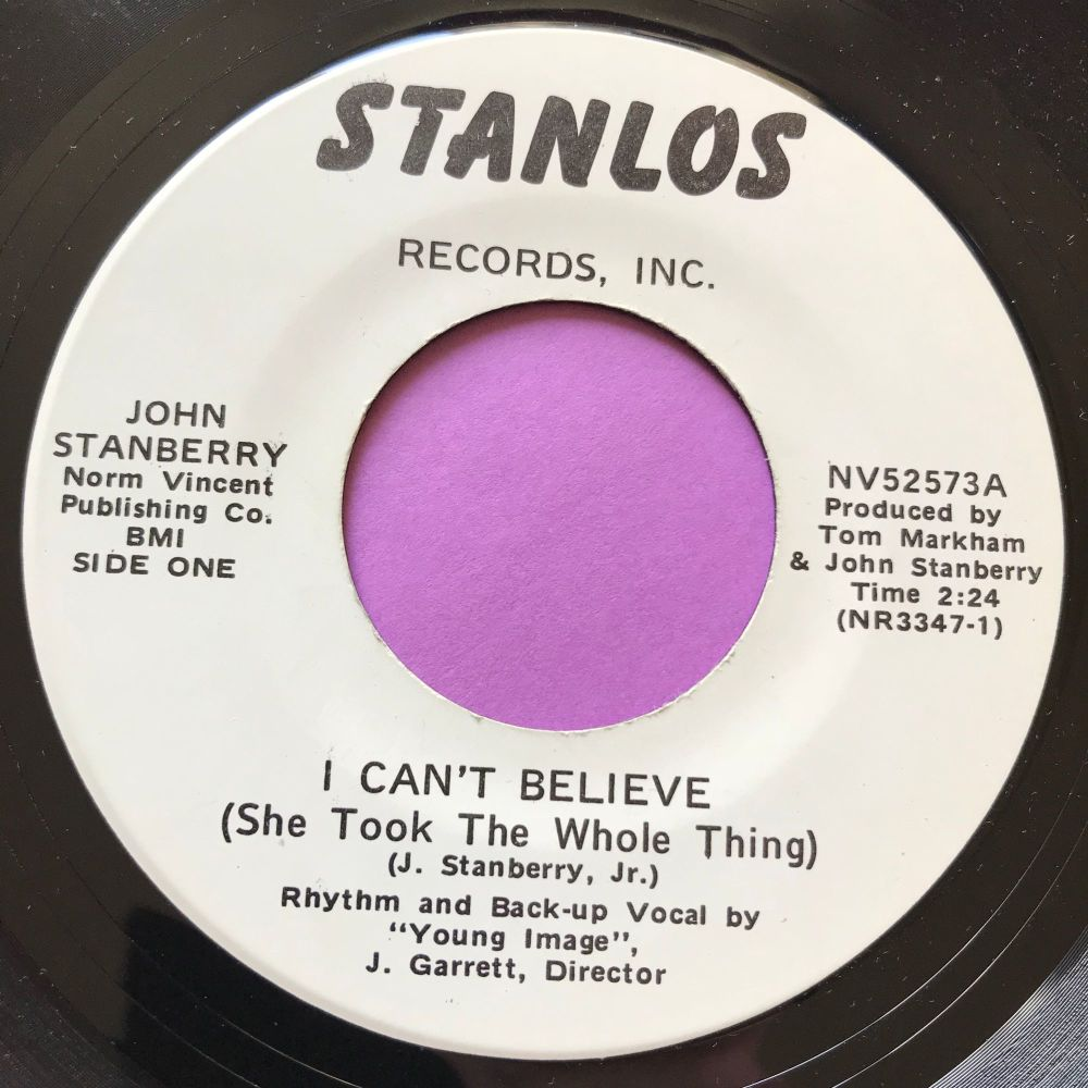 John Stanbury-I can't believe-Stanlos E+