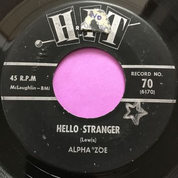 Alpha Zoe-Hello stranger-Hit E