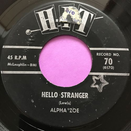 Alpha Zoe-Hello stranger-Hit E