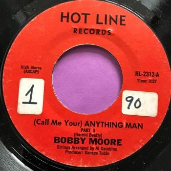 Bobby Moore-Anything man-Hotline stkr E+