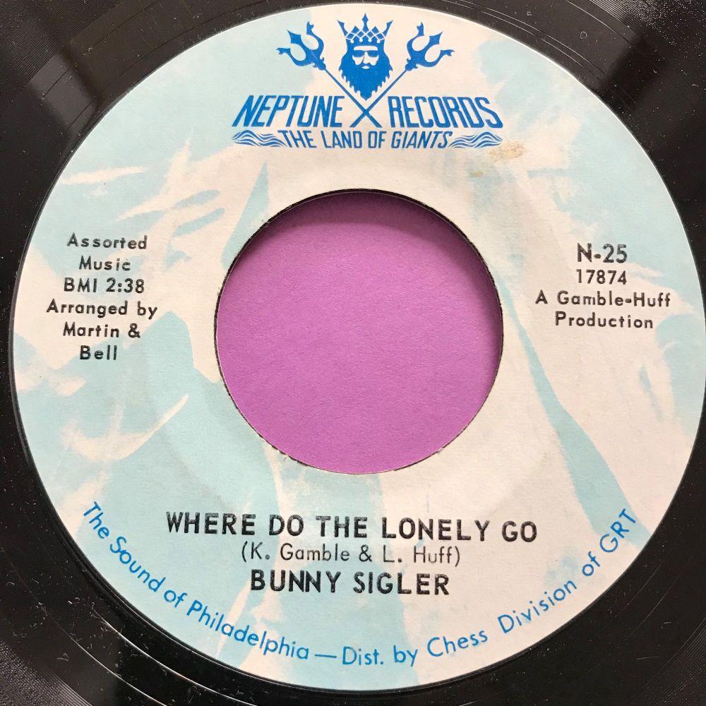 Bunny Sigler-Where do the lonely go-Neptune M-