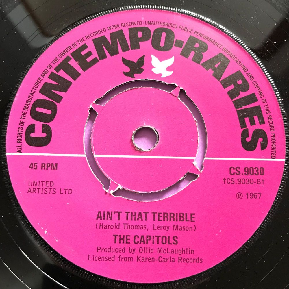 Capitols-Ain't that terrible/ Cool jerk-UK Contempo raries E+