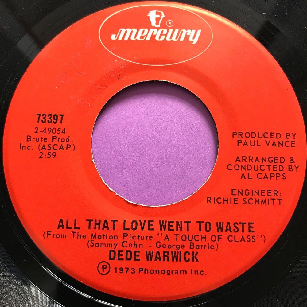 De De Warwick-All that love went to waste-Mercury E+